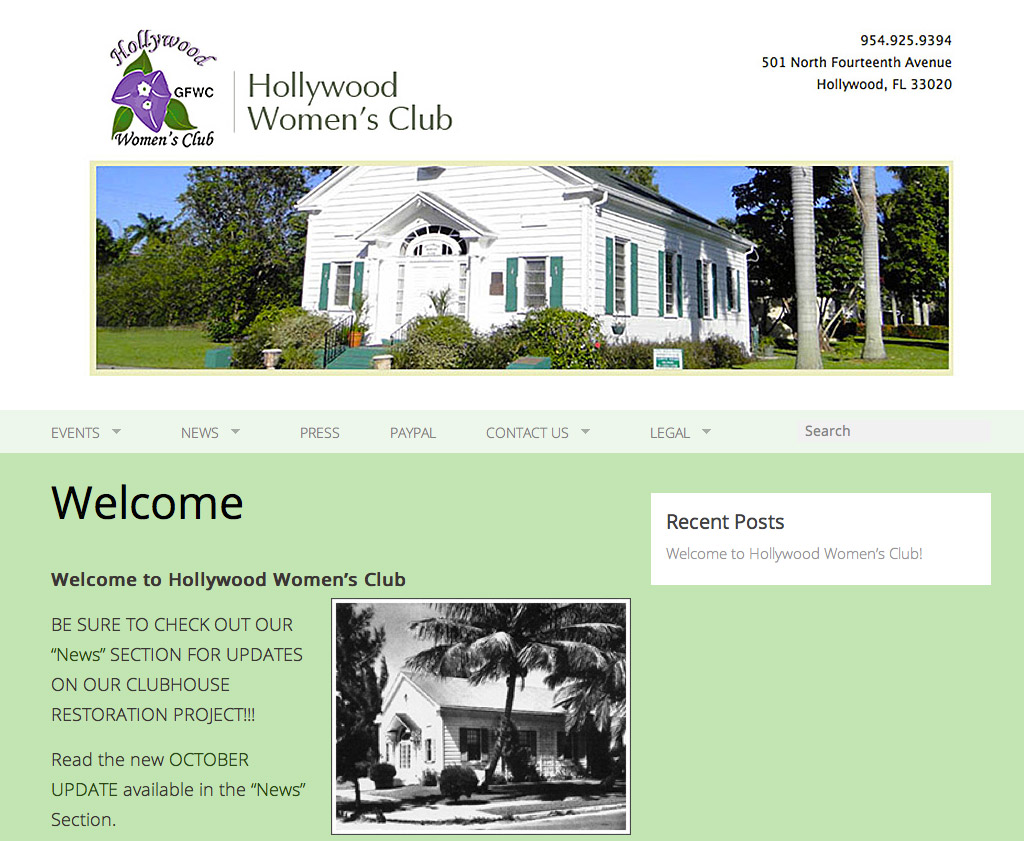 Hollywood Women's Club Volunteer
